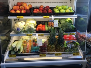 Healthy Retail Sav Mor Produce Fridge