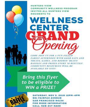 HV Grand Opening Flyer